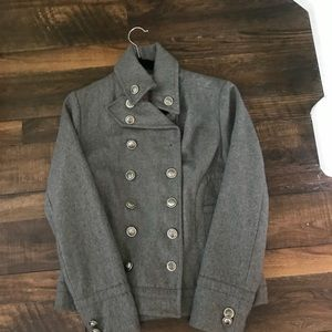 Military Style wool jacket